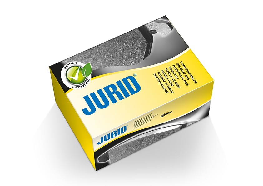 Jurid - 3D pack simulatie met sticker